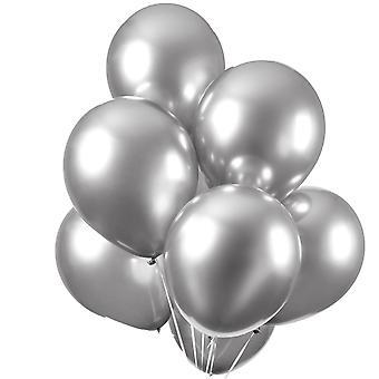 Sassier Ballonger Chrome | Mirror | Reflex Silver - 10-pack