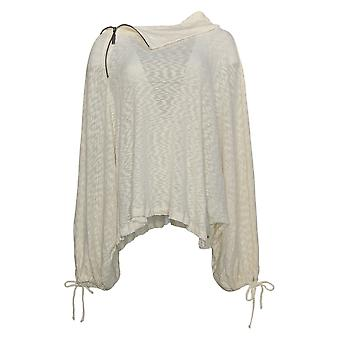 Peace Love World Women's Top XL/1X Alinita Knit Top W/ Zipper Detail A350552