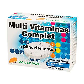 Complet Multivitamins + Trace Elements 24 tablets
