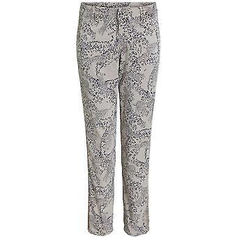 Oui Leopard Design Trousers