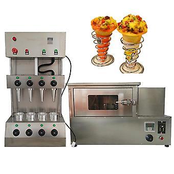 Hocheffiziente elektrische kommerzielle 4 Kegel formen Pizza Eis Kegel Maker