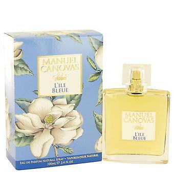 L'ile Bleue Eau De Parfum Spray By Manuel Canovas 3.4 oz Eau De Parfum Spray
