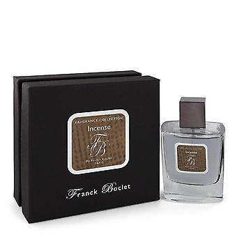 Franck Boclet Incense Eau De Parfum Spray By Franck Boclet 3.4 oz Eau De Parfum Spray
