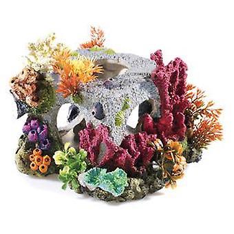 Klassiker för husdjur stor kubisk livsmiljö 205mm (fisk, dekoration, prydnadsföremål)