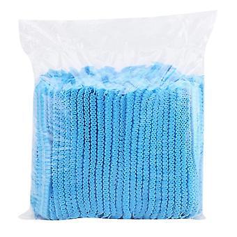 Μίας χρήσης ΚΑΠ & μη υφασμένα καλύμματα διχτυών σκόνης για τα μαλλιά υγιεινής τροφίμων κοσμετολογίας