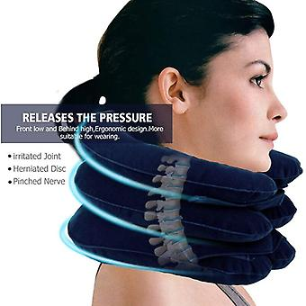 Inflatable Cervical Vertebra Traction Soft Travel Neck Pain Release Tractor Neck Posture Correction Neck Stretching Brace