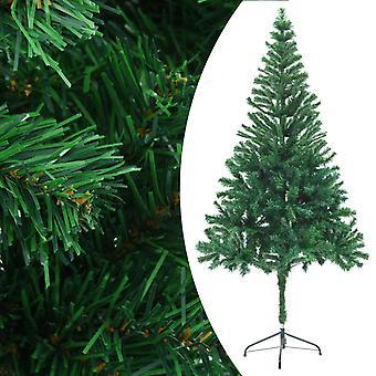 vidaXL شجرة عيد الميلاد الاصطناعي مع موقف 180 سم 564 فروع