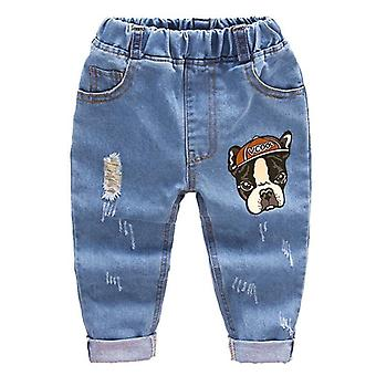 Boys Jeans Trousers, Baby Toddler Denim Pants