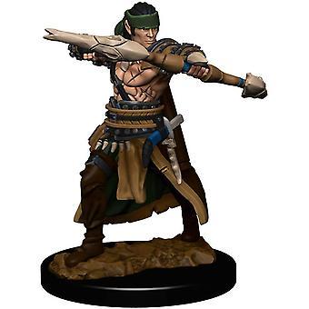Pathfinder Battles - Male Half-Elf Ranger Pre-painted Figure