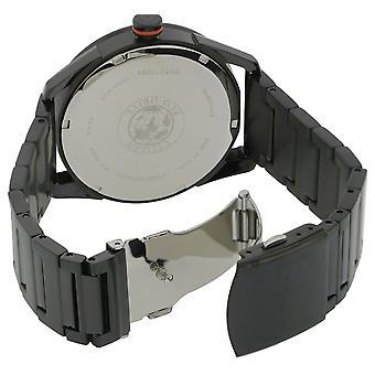 Ciudadano unidad acero inoxidable negro reloj BM6995-51E