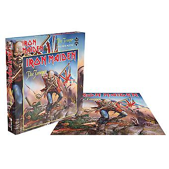Iron Maiden Jigsaw Puzzle The Trooper Cover new Official Blue 1000 Piece