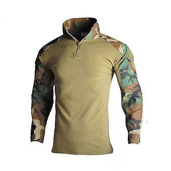 Camisa militar, trajes de camuflaje, uniformes de camisas del ejército