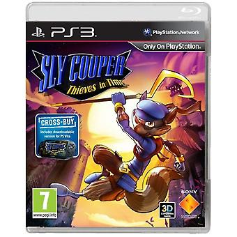 Sly Cooper Diebe in Zeit Spiel PS3