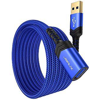 FengChun USB Verlängerung Kabel 2M 2Stück USB 3.0 Verlängerungskabel A Stecker auf A Buchse
