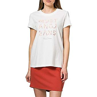 MUSTANG Alina C Print T-Shirt, Vit, XL Kvinna(2)