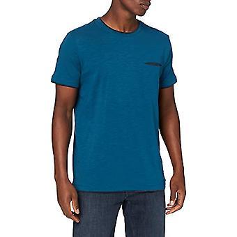 ESPRIT 990EE2K320 חולצת טריקו, 450/כחול נפט, L Man