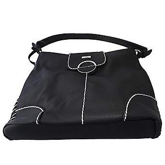 Rieker H1032, Women's Bag, Black, 360x130x265