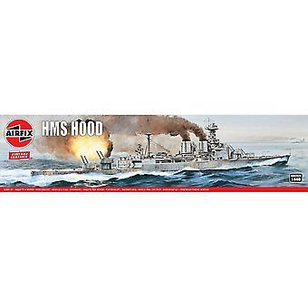 HMS Hood 1:600 Vintage Klassinen Warship Air Fix -mallisarja