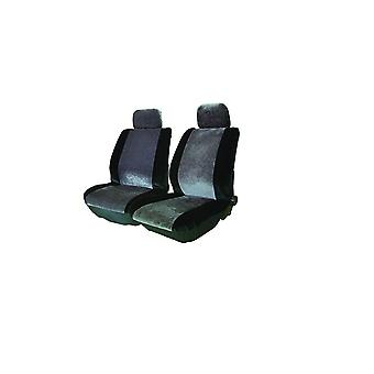 """Streetwize Alpha Universal Lo-Back """"Velour Style"""" Pair of Seat Covers"""