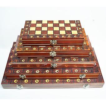 Magnetic Backgammon Checkers Set Foldable Board
