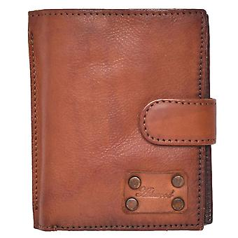 Men's Vintage Style Genuine Leather Organiser Wallet