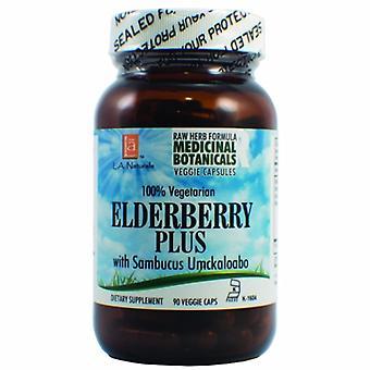L. A .Naturals Elderberry Plus Raw Formula, 90 Veg Caps