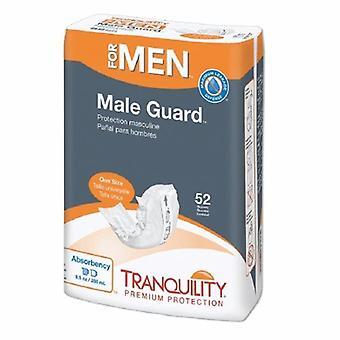 Principe zakelijke ondernemingen blaas controle pad rust mannelijke bewaker 12-1/4 inch lengte zware absorptie perzik mat core een s, 52 zakken
