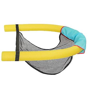 Mesh Floating Pool Chair Noodle Slings ,sling Mesh Chair(Yellow)