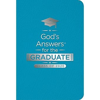 Gods Answers for the Graduate Class of 2020  Teal NKJV  New King James Version by Jack Countryman