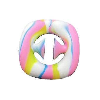 1PCS Stress Relief Snapper Fidget Toy Silicone Hand Grip Sensory Toy for Kids and Adult