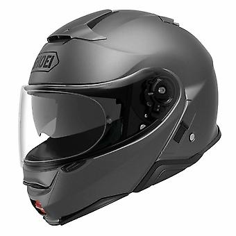 Shoei Neotec 2 Vanlig Djup Spec Motorcykelhjälm Matt/Grå