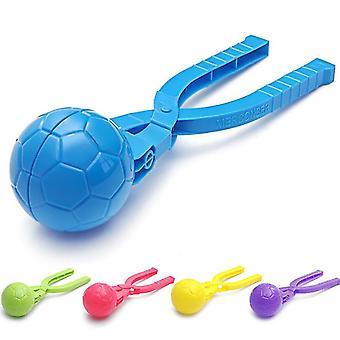 Hógolyó gép gyermekek téli szabadtéri játék hógolyó klip játszani hó játék eszköz kacsa / kör