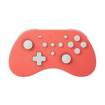 Chronus Gamepad Game Joystick Controller Wireless Bluetooth Windows iOS PC con Burst Switch Pro Host Android Game Handle (rosso)