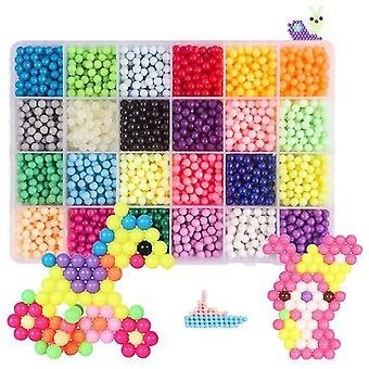 Diy Beads Crafts Set - Educational Creativity Magic Water Accessories Christmas