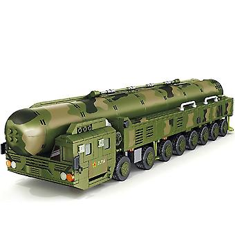 Serie militare Intercontinental Missile Building Blocks Missile Launch Vehicle Model