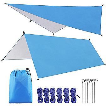 Outdoor furniture covers 3x3m sun awning waterproof car shade sunshade garden beach umbrella travel camping tent