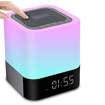 Bluetooth Speaker With Lamp & Alarm Clock