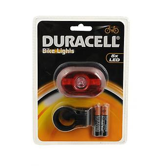 Duracell 5 LED cykel ljus ljus cykel tillbaka varningen Baklampa lyser