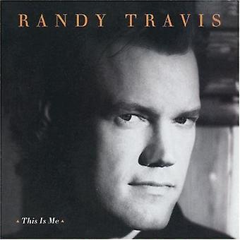 Randy Travis - este é Me [CD] EUA importar