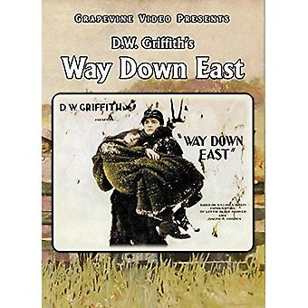 Way Down East [DVD] USA import