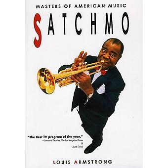 Louis Armstrong: Masters of American Music: Satchm [DVD] USA import