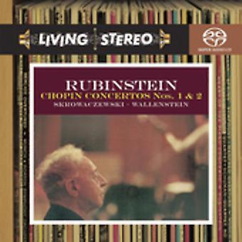 Artur Rubinstein - Chopin: Piano Concertos nos 1 et 2 [CD] USA import
