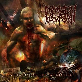 Execration - Feast for the Wretched [CD] USA import