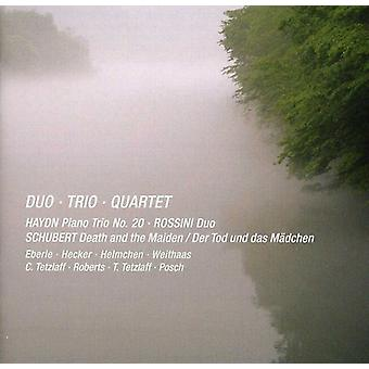 Eberle/Tetzlaff/Weithaas - Duo, Trio, Quartet [CD] USA import