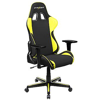DX Racer DXRacer OH/FH11/NY High-Back Ergonomic Office Desk Chair Strong Mesh+PU(Black/Yellow)