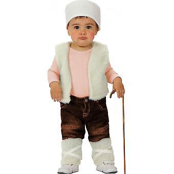 Costume robe de bébé costumes bébé Berger