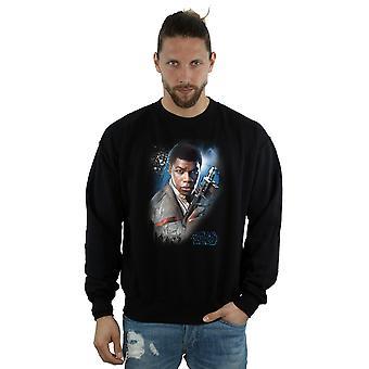 L'ultimo Jedi Finn Star Wars maschile spazzolato Sweatshirt