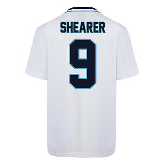 Score Draw England Euro 1996 Home Shirt (Shearer 9)
