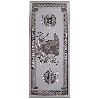 Argent faux Costume drôle Ten Dollar Bill Gangster Mob Casino