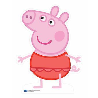 Peppa Pig trägt Badeanzug Lifesize Karton Ausschnitt / Standee / Standup